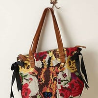 Anthropologie - Stitched Deer Tote