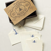 Anthropologie - Quill & Scroll Writing Set