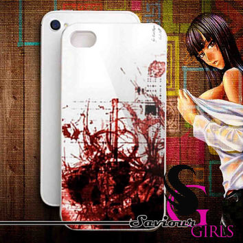 Bloody Splash for iPhone 4/4S, 5/5S, 5C and Samsung Galaxy S3, S4 - Rubber and Plastic Case