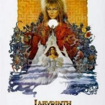 Labyrinth movie poster Sign 8in x 12in