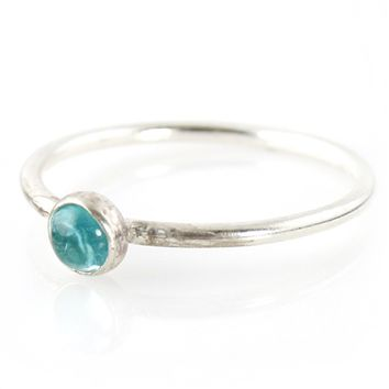 Apatite Stacking Ring - Spiffing Jewelry