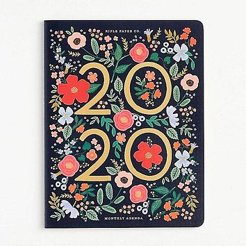RIFLE PAPER CO 2020 WILD ROSE APPOINTMENT CALENDAR
