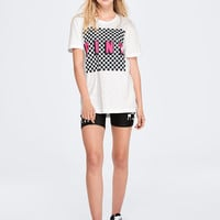 Campus Short Sleeve Mesh Tee - PINK - Victoria's Secret