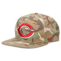 47 Brand Twin Cincinnati Reds MLB Air Drop Strapback Hat