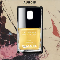 Chanel Nail Polish Mimosa Samsung Galaxy Note 5 Case Auroid