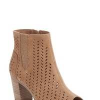 TOMS Majorca Perforated Suede Bootie (Women) | Nordstrom