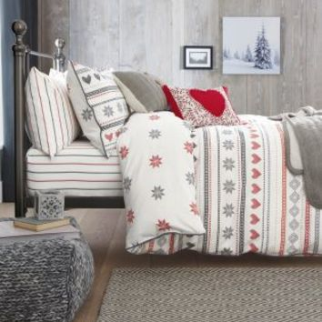 Buy Brushed Cotton Fairisle Print Bed Set online today at Next: United States of America