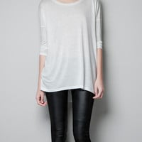 FRENCH SLEEVE T-SHIRT - Woman - New this week - ZARA United States