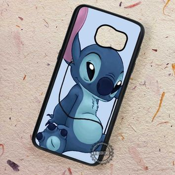 Enjoy Listening To the Music Lilo and Stitch - Samsung Galaxy S7 S6 S5 Note 7 Cases & Covers