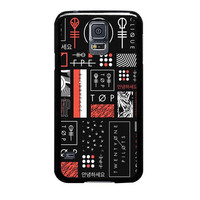 twenty one pilots collages case for samsung galaxy s5