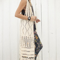 The Crochet Dylan Vest