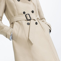 WATER REPELLENT TRENCH COAT