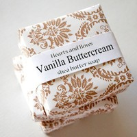 Vanilla Buttercream Shea Butter Soap by heartsandbows494