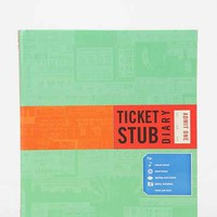 Ticket Stub Diary By Chronicle Books- Assorted One