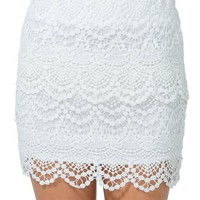 Only Yours Crochet Skirt