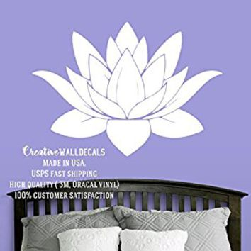 Wall Decal Vinyl Sticker Decals Art Decor Design Lotus Buddha Yoga Ganesh Fashion Bedroom Dorm (r577)