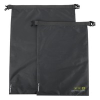 Black World Travel Essentials Dry Bags - Set of Two
