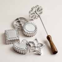 Rosette and Timbale Set, 6 Piece Set - World Market