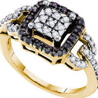 Diamond Fashion Ring in 14k Gold 0.48 ctw