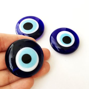 2 pcs Evil eye magnet, unique wedding favor, evil eye fridge magnet