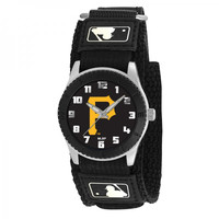 Pittsburgh Pirates MLB Youth Rookie Series Watch (Black)