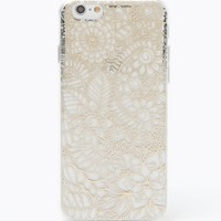 LA Hearts Gold Lace iPhone 6/6s Case - Womens Scarves - Gold - One