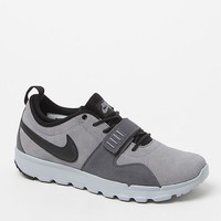 Nike SB Trainerendor Suede Grey & Black Shoes - Mens Shoes - Grey