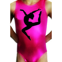 Gymnastics Leotards Girls Mystique FLOOR LEAP Leotard Gymnast Dance leotard Mystique