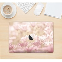 """The Distant Pink Flowerland Skin Kit for the 12"""" Apple MacBook"""