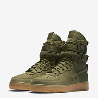 SF AF-1 Nike Special Field Air Force 1 'Faded Olive & Gum Light Brown'. Release Date.