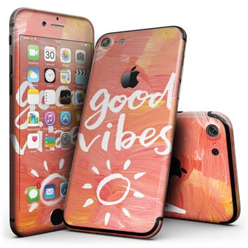 Good Vibes - 4-Piece Skin Kit for the iPhone 7 or 7 Plus