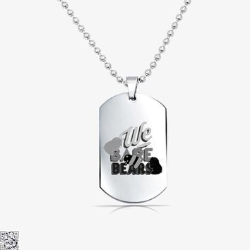 We Bare Bears, We Bare Bears Tag Necklace