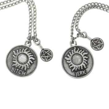 Supernatural Best Friends Necklace Set