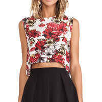 Winston White Chantal Top in Red