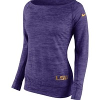 Nike Women's LSU Tigers Purple Epic Crew Sweatshirt