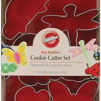 bug buddies metal cookie cutters - 6 ct