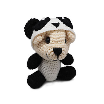Osha Panda Crochet Teddy Bear Stuffed Animals, Birthday Gifts for Women