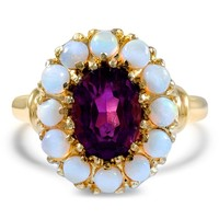 14K Yellow Gold The Esquivel Ring