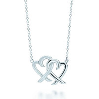 Tiffany & Co. - Paloma Picasso®:Loving HeartInterlocking Pendant
