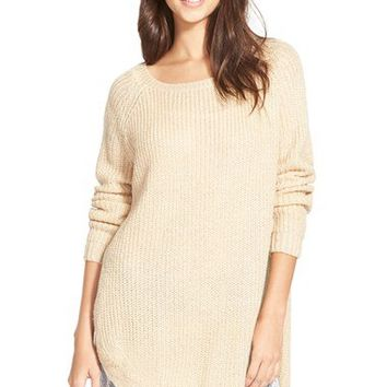 Dreamers by Debut Lace Trim Pullover | Nordstrom