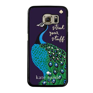 KATE SPADE PEACOCK Samsung Galaxy S6 Case Cover