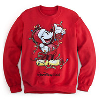 Mickey Mouse Sweatshirt for Adults - Holiday - Walt Disney World | Disney Store