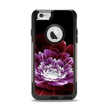 The Glowing Abstract Flower Apple iPhone 6 Otterbox Commuter Case Skin Set