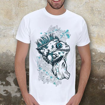 Reptile Figure Men T-Shirt / Special Production (Limited Edition)