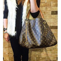LV Tide brand classic models women's casual simple backpack shoulder bag
