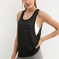 Stripe Burnout Workout Tank