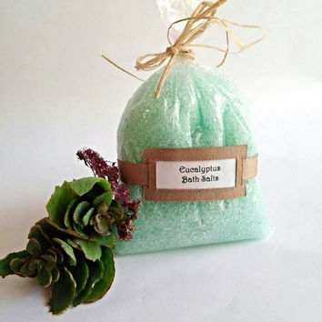 Bath salts, bath soak, bath salts and soaks, all natural salt soak,mineral bath salt, Eucalyptus bath salts gifts for mom,  gifts under 10