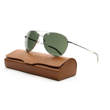 Oliver Peoples 1002S Benedict Sunglasses 5036/R5 Silver, G15 Grey Glass 59 mm