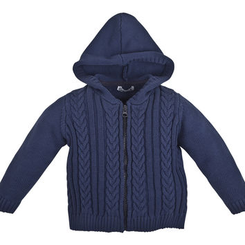 Gulliver Baby Chunky Knit Hoodie