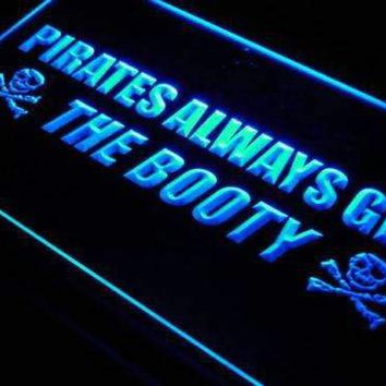 Pirates Always Get the Booty LED Neon Light Sign